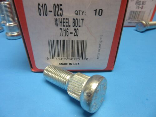 Set 20 Wheel Lug Studs Front /& Rear Replace OEM # 610186 Expedited Shipping