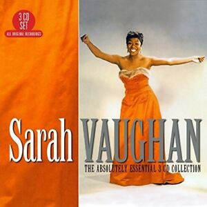 Sarah-Vaughan-Absolutely-Essential-3CD-Collection-New-CD-UK-Import
