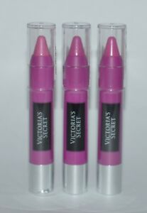 3-VICTORIA-039-S-Secret-Kiss-My-Neon-Mate-Labios-Cera-Lapiz-Forro-Color-Morado-Lote