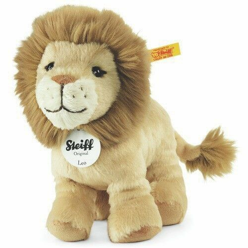 Steiff 066658 Leo Lion with FREE gift box