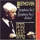 Ludwig van Beethoven - Beethoven: Symphonies Nos. 1 & 3 (1996)