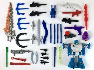 TRANSFORMERS-LOT-Swords-Guns-Missiles-and-Parts-G1-RID-Action-Figures-1