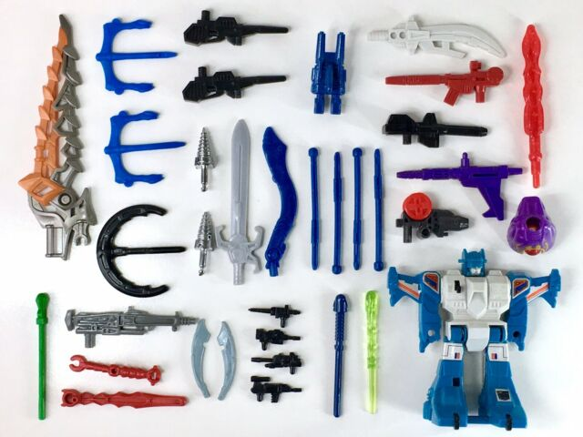 TRANSFORMERS LOT - Swords, Guns, Missiles and Parts - G1, RID Action Figures #1