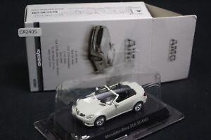 Kyosho-Mercedes-Benz-SLK-55-AMG-1-64-Scale-Box-Mini-Car-Display-CA2405
