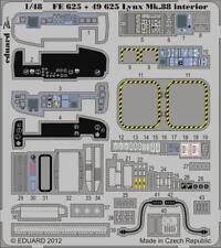 Eduard 1:48 Su-35 Flanker E Interior Color PE Detail Set For Kitty Hawk #49858