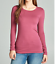 Basic-Long-Sleeve-Solid-Top-Womens-Plain-Cotton-T-Shirt-Stretch-Tight-Crew-Neck thumbnail 26