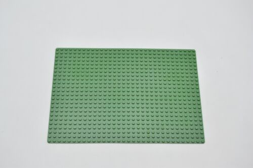 LEGO Basisplatte Bauplatte 32x24 Noppen grün Green Baseplate 24x32 10a