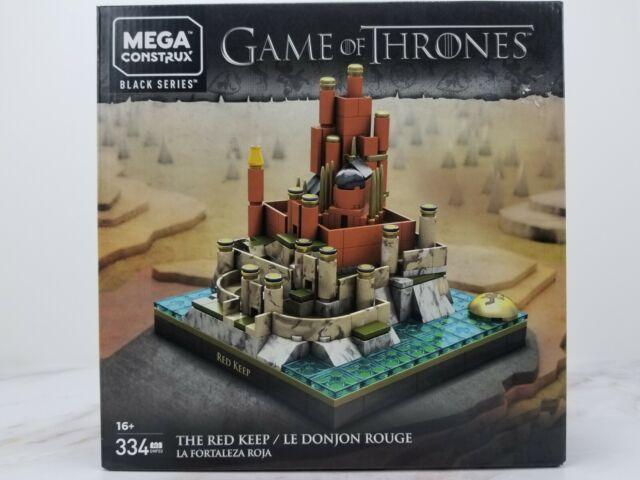Building Bricks Game of Thrones The Red Keep - 334 Pcs Mega Construx Castle