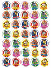 """""""SALE"""" 35 x Paw Patrol Edible Rice/Wafer Cupcake toppers"""