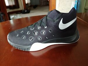 Mens-NIKE-Zoom-Hyperquickness-2015-Black-Size-9-M-AMPUTEE-LEFT-SHOE-ONLY