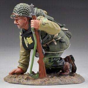 THOMAS GUNN WW2 U.S. ARMY 2ND RANGERS USA004B KNEELING RANGER WET LOOK MIB