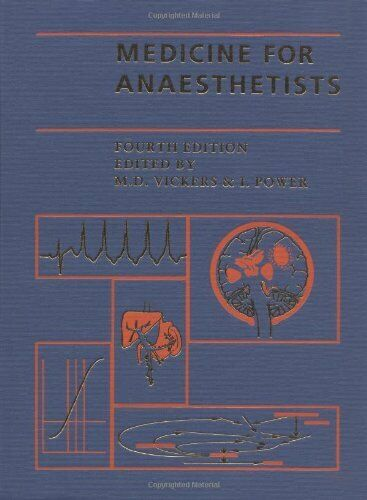 Medicine for Anaesthetists Hardback Book The Fast Free Shipping