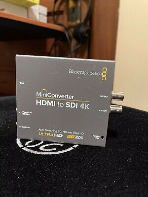 Blackmagic Design Hdmi To Sdi 6g Mini Converter Missing Ac Ebay