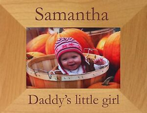 PERSONALISED-DADDY-039-S-LITTLE-GIRL-PHOTO-FRAME-DAD-FATHER-BIRTHDAY-CHRISTMAS-GIFT