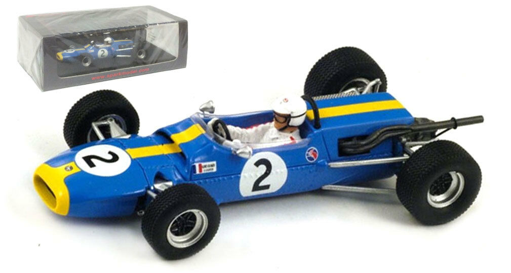 Spark S1595 Matra MS5 Monaco GP 1967 - Johnny Servoz-Gavin 1 43 Scale