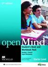 Open Mind 2nd Edition AE Starter Student's Book & Workbook Pack by Ingrid Wisniewska, Dorothy E. Zemach (Mixed media product, 2014)
