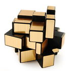 Best Sale Kids Toy Shengshou Golden Mirror 3X3 Speed Cube Magic Puzzle Black