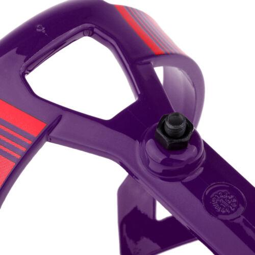 Purple Bicycle Bike Drink Water Bottle Cage Holder Bracket for Road Bike Cycling