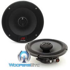 """ALPINE R-S65 6.5"""" 300W LOUD TYPE R COAXIAL 2-WAY SLIK TWEETERS CAR SPEAKERS NEW"""