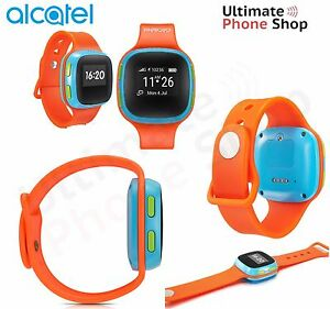New-Alcatel-Move-Time-Kids-Smartwatch-SW10-orange-Blue