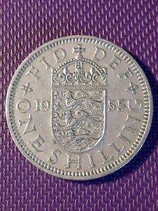 **1955 One Schilling  Great Britain Queen Elizabeth 11