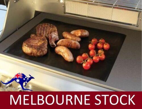 BBQ COOKING SHEET NONSTICK TEFLON ALL PURPOSE HOTPLATE LINER 50x38cm