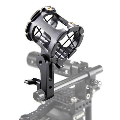 SmallRig Microphone Bracket Shock Mount with 15mm Rail Clamp Dslr Rig 1670