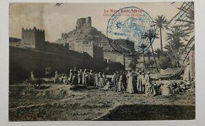 498-Antica-Cartolina-il-Haut-Guir-Marocco-Oulad-A-M-le-Mura