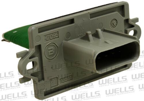 HVAC Blower Motor Resistor WVE BY NTK 4P1343
