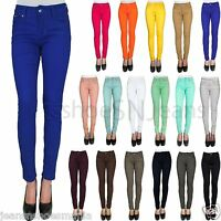 New Women Jeggings Spandex Sexy Soft Leggings Pencil Skinny Jeans School Pants