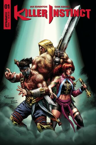 E AWESOME!! KILLER INSTINCT #1 COVER E ADAMS EXCLUSIVE SUBSCRIPTION VARIANT D