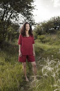 Medium Pyjamas Cocoon Women/'s Adventure Travel Nightwear Raspberry