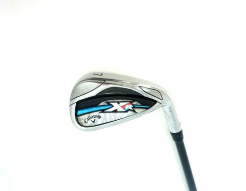 Golfschläger Ladies Callaway XR OS 7 Iron Bassasra 50 Ladies Graphite Shaft Golf-Artikel