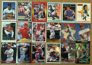 Ivan-Rodriguez-LOT-of-30-Rookie-insert-base-cards-NM-HOF-1991-1998-RC-Pudge-Tex