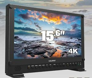 LILLIPUT-15-6-034-BM150-4K-Broadcast-Ultra-HD-w-SDI-HDMI-DVI-VGA-TALLY-Anton-Bauer