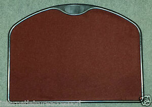 Caravan Entrance Mat & Tray - Rust (Burgundy)    (CA655)