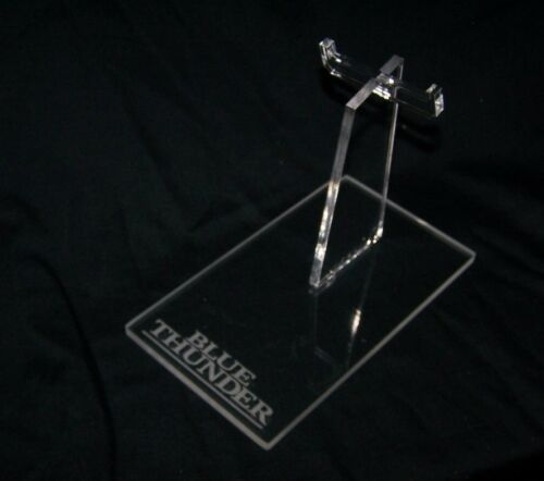 acrylic display stand for  vintage MTC Blue Thunder helicopter Columbia Pictures