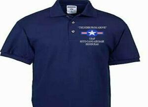SOTO CANO AIR BASE HONDURAS USAF EMBROIDERED POLO SHIRT/SWEAT/JACKET.