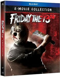 FRIDAY-THE-13TH-ULTIMATE-COLLECTION-BLU-RAY-Sealed-Region-free