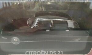 1-43-CITROEN-DS-21-DS21-NEGRO-COCHE-DE-METAL-A-ESCALA