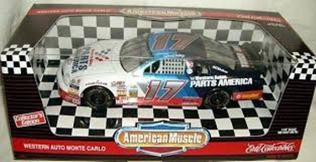 American Muscle NasCoche & Reynard Indy CocheT diecast escala modelo coches 1 18th