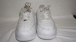40d2e741b3f Nike Air Force 1 Low Men s Size US 14 All White 306353-112 Vintage ...