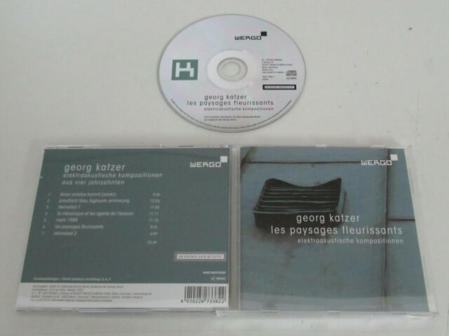 Georg Katzer / Les Paysages Fleurissants ( Wergo 4010228733822) CD Album