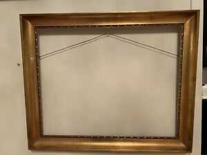 Vintage Picture Frame Wood Gold Color Size  22.5x18.5 and 15.8x19.8 Inches