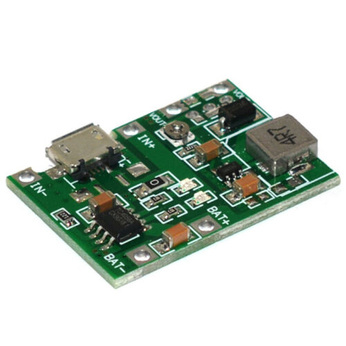 USB Lithium 3.7V Battery Charging Module 4.2V Boost Step Up 5V 9V 12V 24V  CWIC