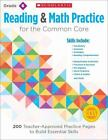 Reading and Math Practice for the Common Core, Grade 6 : 200 Teacher-Approved Practice Pages to Build Essential Skills by Marcia Miller and Martin Lee (2014, Paperback)