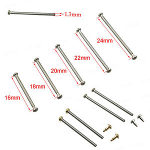 Stainless-Steel-Watch-Band-Strap-Bracelet-Link-Spring-Pins-16-18-20-22-24mm-4PCS