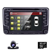 "7"" Car Stereo Radio DVD CD GPS Sat-Navi VW Golf Passat Jetta Touran Tiguan Polo"