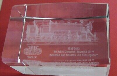 Aufstrebend Eisenbahn Aus Glas Dekorativ