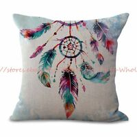 Us Seller-cushion Covers Online Native Tribe American Dreamcatcher Cushion Cover